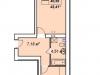 """Схема квартиры в проекте """"У пруда""""- #1054081248"""
