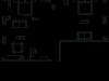 "Схема квартиры в проекте ""Вавилова, 69А""- #2031819740"