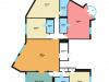 """Схема квартиры в проекте """"Вавилово""""- #1604101186"""