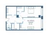 "Схема квартиры в проекте ""Vernad Sky""- #599349280"