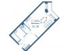 "Схема квартиры в проекте ""Vernad Sky""- #968295353"