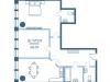 "Схема квартиры в проекте ""Vernad Sky""- #711964383"