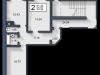 """Схема квартиры в проекте """"Вишневый""""- #655419358"""