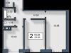 """Схема квартиры в проекте """"Вишневый""""- #2111102415"""