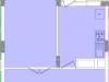 """Схема квартиры в проекте """"Воря""""- #137382015"""