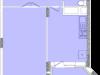 """Схема квартиры в проекте """"Воря""""- #1497463582"""