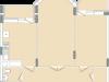 """Схема квартиры в проекте """"Воря""""- #1070465728"""