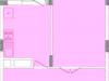 """Схема квартиры в проекте """"Воря""""- #1858467761"""