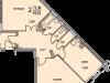 """Схема квартиры в проекте """"Восточный берег""""- #498637941"""