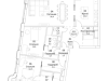 "Схема квартиры в проекте ""ВТБ Арена Парк""- #201074553"