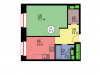"Схема квартиры в проекте ""Wellton Park (Веллтон Парк)""- #1605310943"