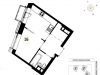 "Схема квартиры в проекте ""Wellton Towers""- #1627565457"