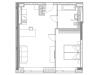 """Схема квартиры в проекте """"YE'S Ботанический сад""""- #2003561890"""
