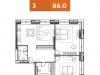 """Схема квартиры в проекте """"YE'S Технопарк""""- #548211552"""