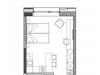 """Схема квартиры в проекте """"YE'S Технопарк""""- #476923272"""
