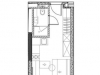 """Схема квартиры в проекте """"YE'S Технопарк""""- #790061584"""