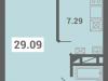 """Схема квартиры в проекте """"Южная долина""""- #268132944"""
