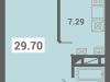 """Схема квартиры в проекте """"Южная долина""""- #756452863"""