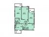 """Схема квартиры в проекте """"Южный""""- #1501841052"""