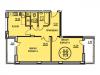 """Схема квартиры в проекте """"Южный""""- #2099518521"""