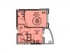 """Схема квартиры в проекте """"Южный""""- #209316356"""