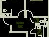 """Схема квартиры в проекте """"Зеленая околица""""- #1907018226"""