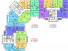 """Схема квартиры в проекте """"Зеленый остров""""- #545116621"""