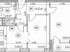 """Схема квартиры в проекте """"Золотая звезда""""- #1343396134"""