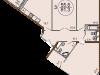 """Планировка квартиры в """"Жилой комплекс Золотое солнце""""- #692891607"""