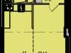 "Схема квартиры в проекте ""Звезда Томилино""- #43162330"